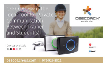 CEECOACH Horse and Rider Communication Device