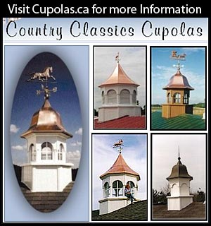 Cupolas from Country Classic Cupolas
