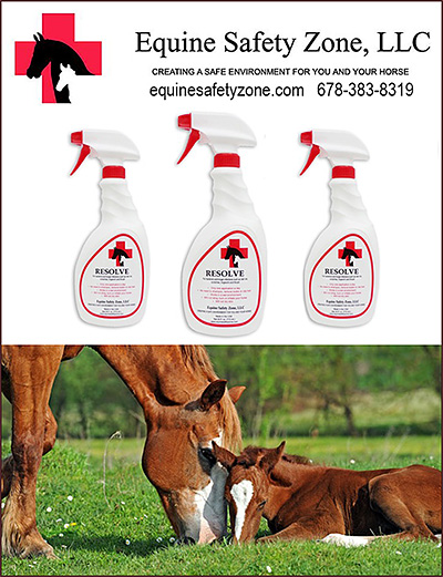 Resolve by Equine Safety Zone for Rain Rot!