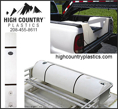 High Country Plastics Horse Truck Products
