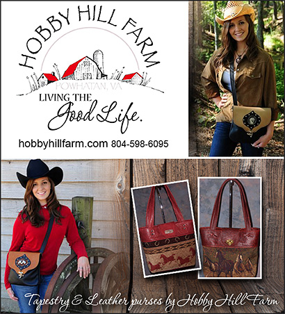 Hobby Hill Farm  Western Purses for Horse Owners!