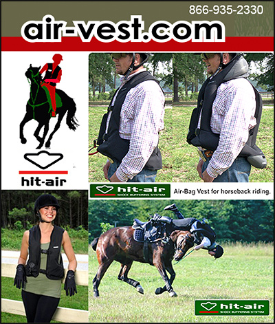 air-vest Horseback riding safety Products!