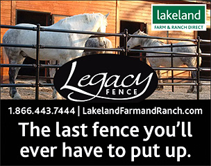 Legacy Steel Fencing from Lakeland Farm and Ranch
