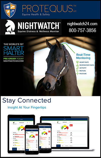 NIGHTWATCH Equine Distress and Wellness Monitor