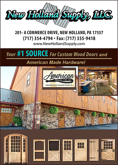 New Holland Supply, LLC. Barn Doors and Hardware!