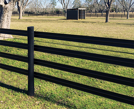 Low Maintenance Vinyl Horse Fencing