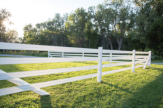 Flex Horse Fence is strong and forgiving.