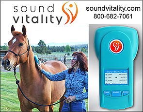 Sound Vitality Equitonic 9 for Horse Healing