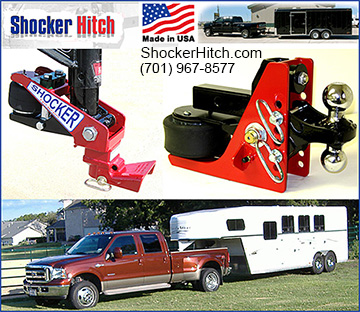 Shocker Horse Trailer Hitch
