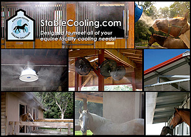 Stable Cooling Misting Fans