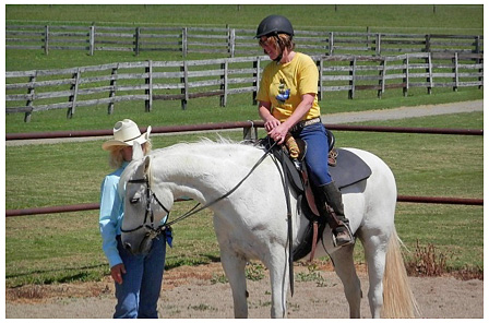 Developing Confidence for Riding Horses