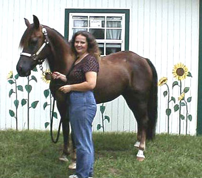Older picture of Ann and  Splendor