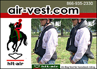 The Hit Air Vest Horse Rider Protection Vest