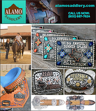 Alamo Saddlery Western Belt Buckles