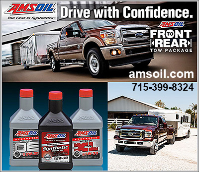 AMSOIL Synthetic Oil for Horse Trucks!