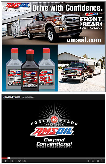 AMSOIL Synthetic oil for hHorse Trucks
