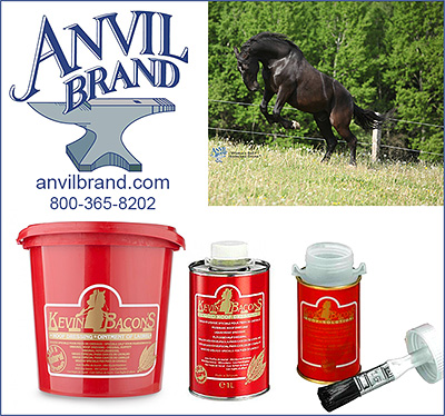 Kevin Bacon's Hoof Conditioner from Anvil Brands Horse Hoof Products!