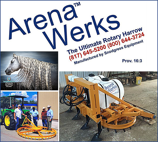 Arena Werks Rotary Harrow for Horse Arenas