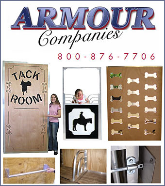 Armour Companies for  Stall Accessories!