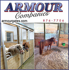 Armour Companies Miniature Horse Stalls!