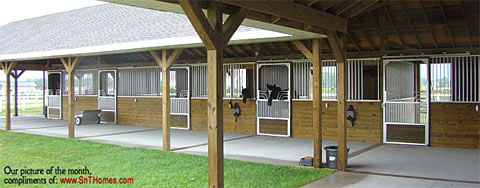 Armour Horse Stalls