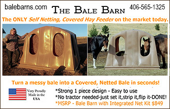 The Bale Barn Horse Feeder