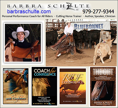 Barbra Schulte Professional Horse Riding Coach!