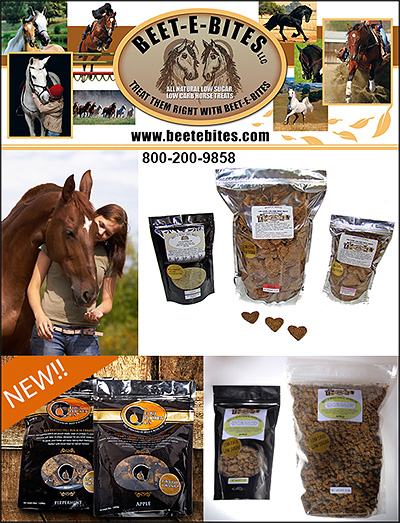 Beet-E-Bites Horse Supplement Treats
