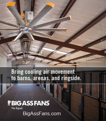 Big Ass Fans Horse Cooling Products!