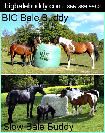 Slow Feeder for Horses by Big Bale Buddy