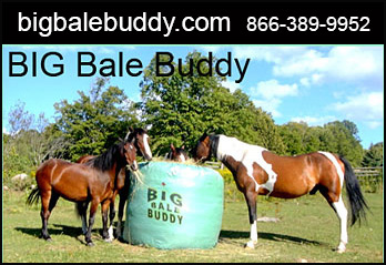Big Bale Buddy Horse Slow Feeder