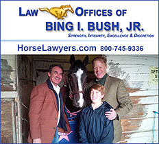 Equestrian Law, Horse Lawyer Bing  I. Bush Jr.