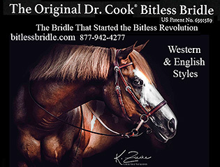 The Original Dr. Cook Bitless Horse Bridle