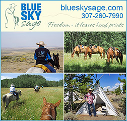 Blue Sky Sage Horse Riding Vacation