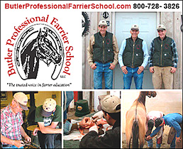 Butler Professional Horseshoeing School