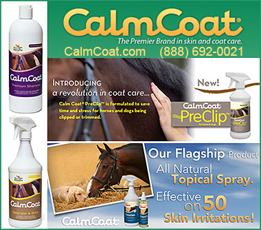 Calm  Coat Horse and Dog Skin and Coat Care