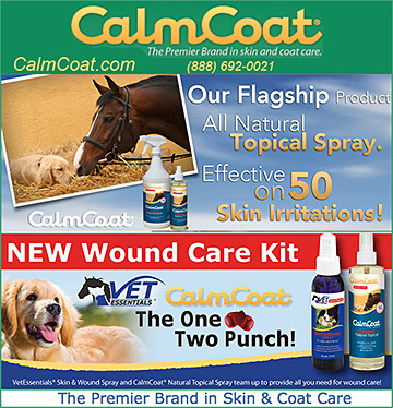 CalmCoat Products for Dogs and Horses