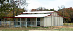Choice builds Steel Horse Barns