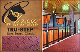 Classic Equine Equipment Tru-Step Flooring!