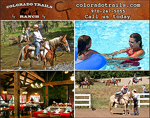 Colorado Trails Ranch Horseback Riding Vacations