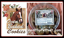Click to visit - Oven Baked Cookies at HealthyPetNet.com