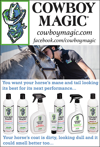 Cowboy Magic Horse Shampoo and Equine Grooming Products