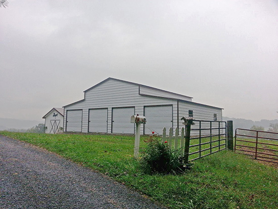 Horse Barns and Buildings