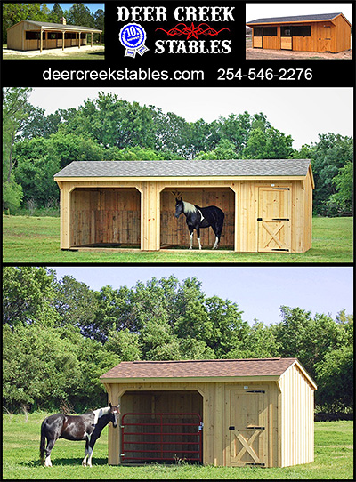 Portable Horse Barns by Deer Creek Stables