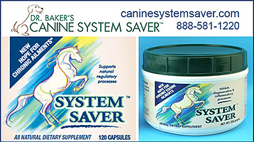Natural Horse Supplement by Dr Baker's Canine System Saver