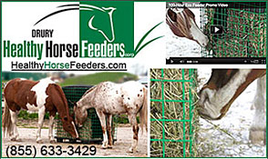 DRURY Healthy Horse Feeders