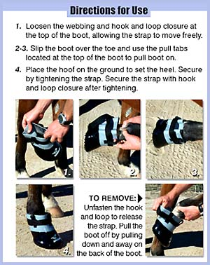 EasySoaker Horse Hoof Treatment Directions