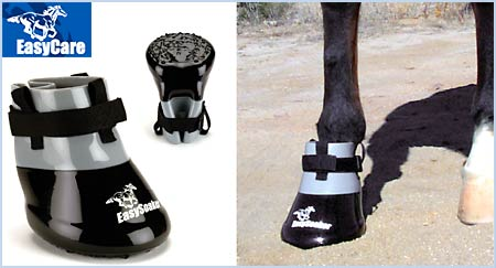 The EasySoaker helps your horse recover form hoof problems.