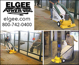 ELGEE Power Vac for Horse Barns