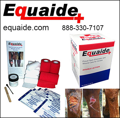 Equaide Horse Skin Care and First Aid Products